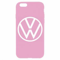 Чехол для iPhone 6/6S Volkswagen new logo