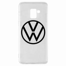 Чехол для Samsung A8+ 2018 Volkswagen new logo