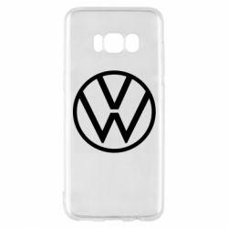 Чехол для Samsung S8 Volkswagen new logo