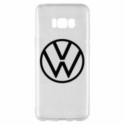 Чехол для Samsung S8+ Volkswagen new logo