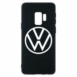 Чехол для Samsung S9 Volkswagen new logo