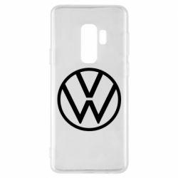 Чехол для Samsung S9+ Volkswagen new logo