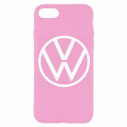 Чехол для iPhone 8 Volkswagen new logo