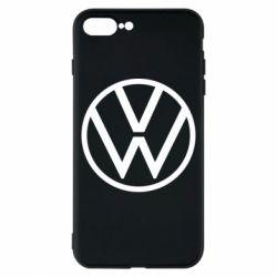 Чехол для iPhone 8 Plus Volkswagen new logo