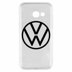 Чехол для Samsung A3 2017 Volkswagen new logo