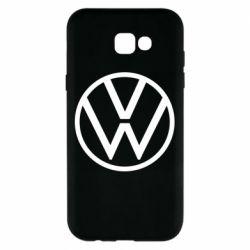 Чехол для Samsung A7 2017 Volkswagen new logo