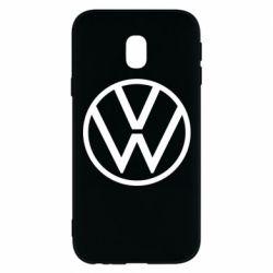 Чехол для Samsung J3 2017 Volkswagen new logo