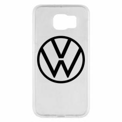 Чехол для Samsung S6 Volkswagen new logo