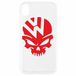 Чехол для iPhone XR Volkswagen Skull