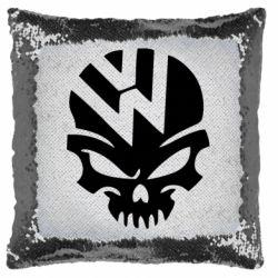 Подушка-хамелеон Volkswagen Skull
