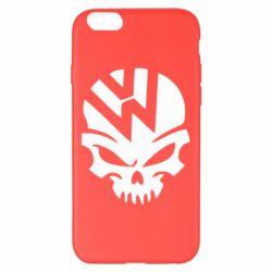 Чехол для iPhone 6 Plus/6S Plus Volkswagen Skull