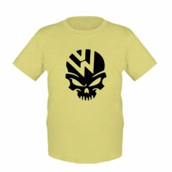 Детская футболка Volkswagen Skull - FatLine