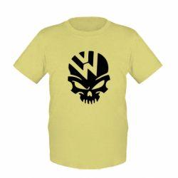 Дитяча футболка Volkswagen Skull