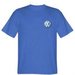 Мужская футболка Volkswagen Small Logo - FatLine