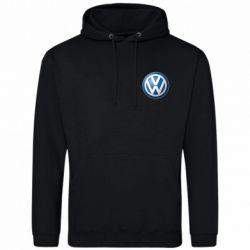 Мужская толстовка Volkswagen Small Logo - FatLine