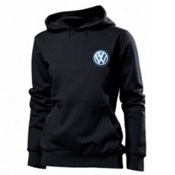 Толстовка жіноча Volkswagen Small Logo