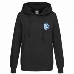 Женская толстовка Volkswagen Small Logo - FatLine