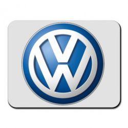 Купить Коврик для мыши Volkswagen Small Logo, FatLine