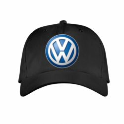 Детская кепка Volkswagen Small Logo - FatLine