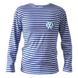 Тельняшка с длинным рукавом Volkswagen Small Logo