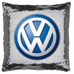 Подушка-хамелеон Volkswagen Small Logo