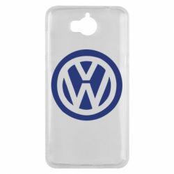 Чехол для Huawei Y5 2017 Volkswagen - FatLine