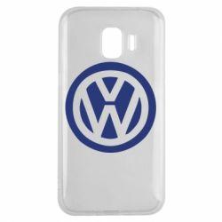 Чехол для Samsung J2 2018 Volkswagen - FatLine