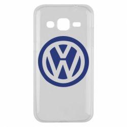 Чехол для Samsung J2 2015 Volkswagen - FatLine