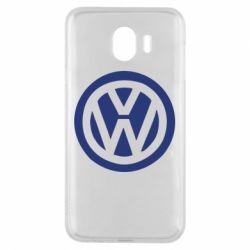 Чехол для Samsung J4 Volkswagen - FatLine