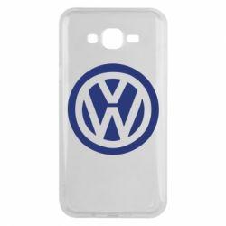 Чехол для Samsung J7 2015 Volkswagen - FatLine