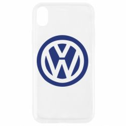 Чехол для iPhone XR Volkswagen - FatLine