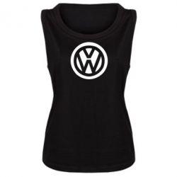Женская майка Volkswagen - FatLine