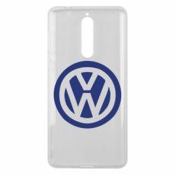 Чехол для Nokia 8 Volkswagen - FatLine