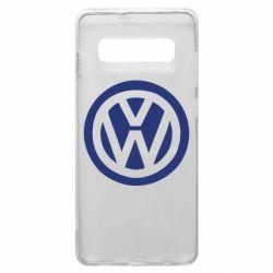 Чехол для Samsung S10+ Volkswagen - FatLine