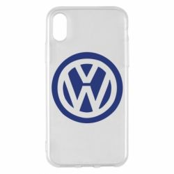 Чехол для iPhone X/Xs Volkswagen