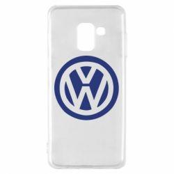 Чехол для Samsung A8 2018 Volkswagen - FatLine