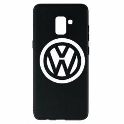 Чехол для Samsung A8+ 2018 Volkswagen - FatLine