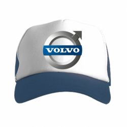 Кепка-тракер VOLVO 3D - FatLine