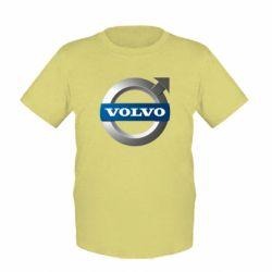 Детская футболка VOLVO 3D - FatLine