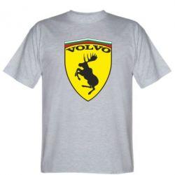 Мужская футболка Volvo Logo - FatLine