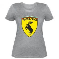 Женская футболка Volvo Logo - FatLine