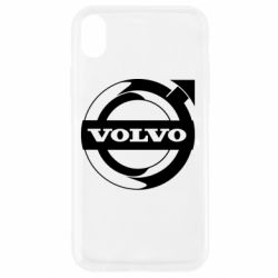 Чохол для iPhone XR Volvo logo