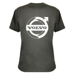 Камуфляжна футболка Volvo logo