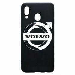 Чохол для Samsung A30 Volvo logo