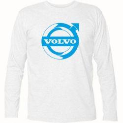 Футболка з довгим рукавом Volvo logo