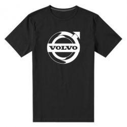 Чоловіча стрейчева футболка Volvo logo