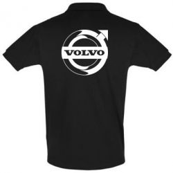 Футболка Поло Volvo logo