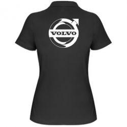 Жіноча футболка поло Volvo logo