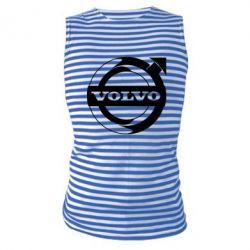 Майка-тільняшка Volvo logo