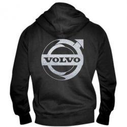 Чоловіча толстовка на блискавці Volvo logo